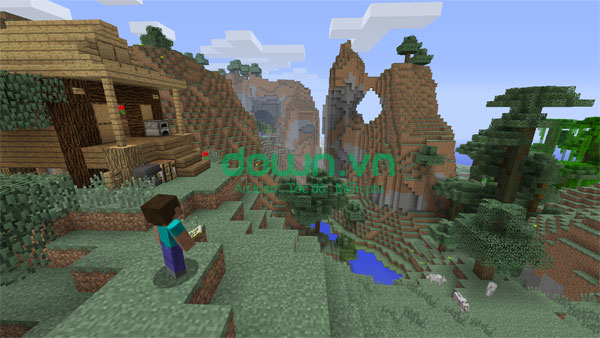Game Minecraft khổi vuông kỳ diệu