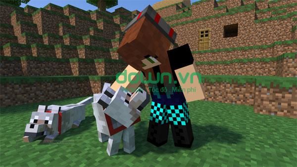 Thế giới sáng tạo trong game Minecraft