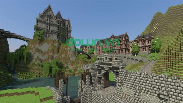Tải game trí tuệ Minecraft