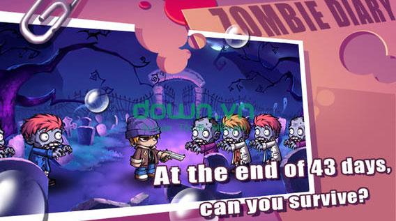 Tải game ZombieDiary miễn phí
