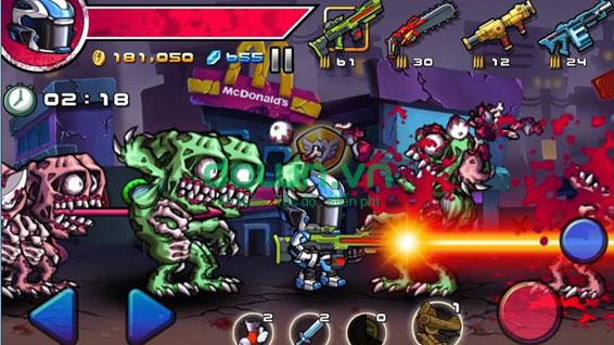 Tải game ZombieDiary miễn phí cho điện thoại