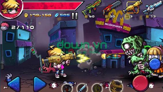 game ZombieDiary miễn phí cho điện thoại