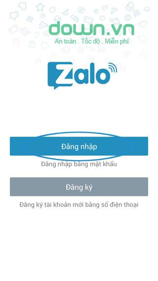 Hướng dẫn cách tìm lại mật khẩu Zalo
