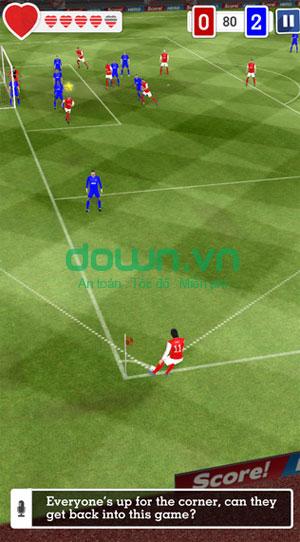 Tải game bóng đá hấp dẫn cho iPhone/iPad