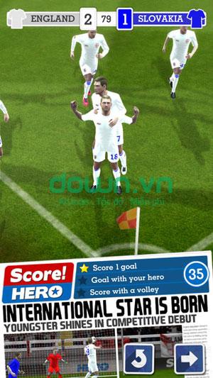 game bóng đá hấp dẫn cho iPhone/iPad