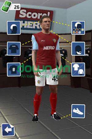 Tải game bóng đá miễn phí cho iPhone/iPad