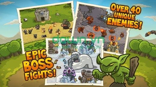 Tải game chiến thuật bảo vệ thủ thành cho iPhone/iPad