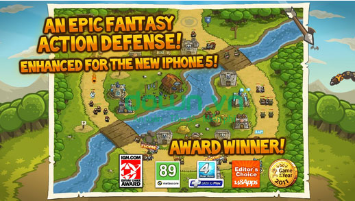 Kingdom Rush cho iPhone/iPad
