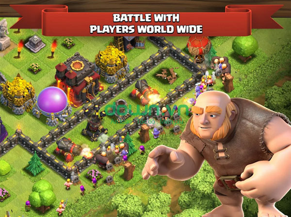 Clash of Clans miễn phí cho Android