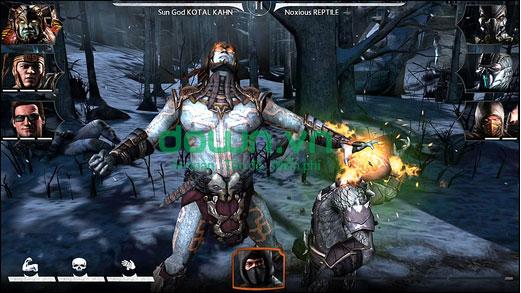 Tải game võ sĩ rồng đen hấp dẫn miễn phí cho iPhone/iPad