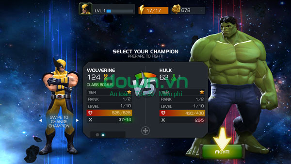 Marvel Contest of Champions miễn phí cho iPhone