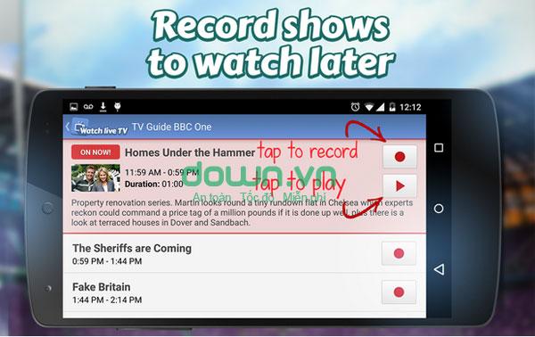 Tải MobiTV cho điện thoại