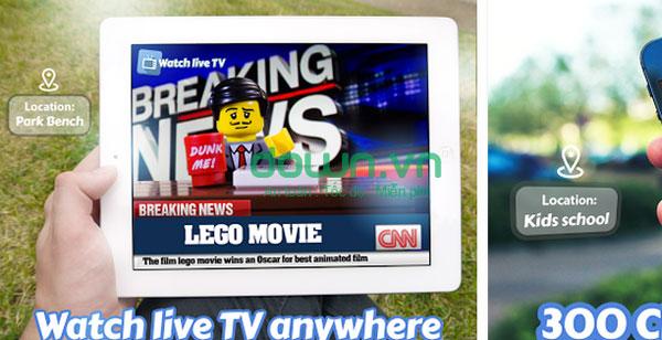 Miễn phí hơn 300 kênh truyền hình hấp dẫn