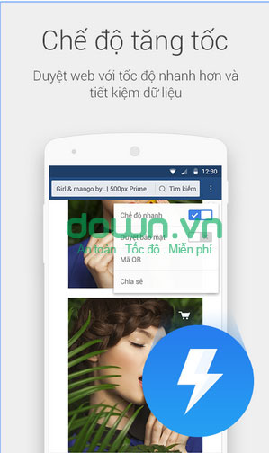 Download UC Browser Android Mini cho Android
