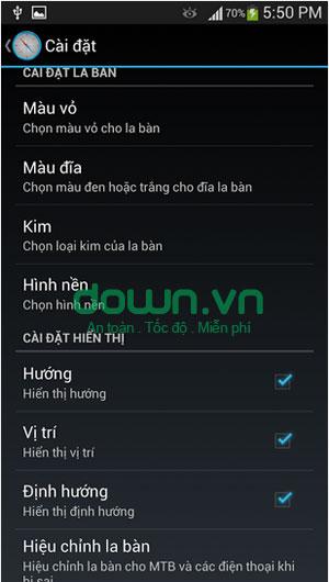 La bàn số cho Android