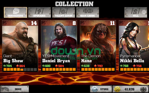 Download WWE Immortals cho iPhone