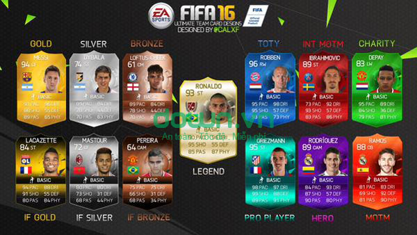 Tải game FIFA 16 Ultimate Team cho iPhone