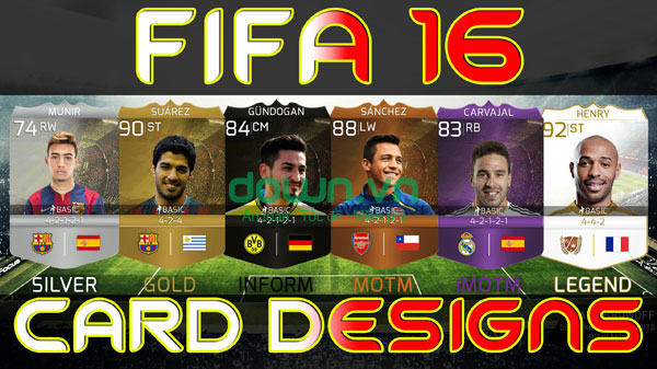 game FIFA 16 Ultimate Team