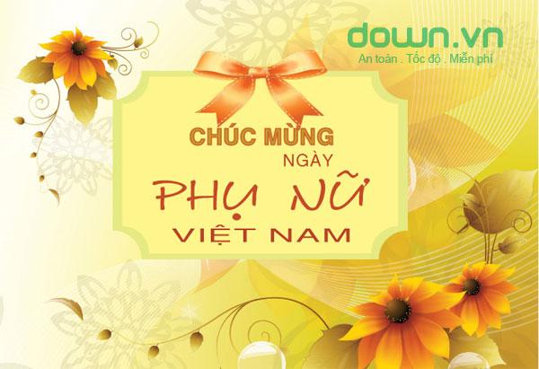 Tổng hợp lời chúc ngày phụ nữ Việt Nam 20/10