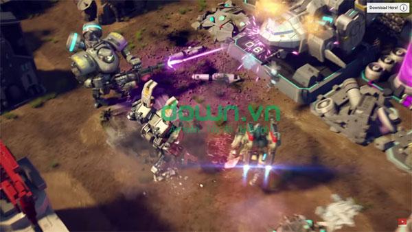 Tải game cuộc chiến robot miễn phí cho iPhone