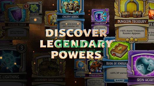 Thu thập thẻ bài và nâng cấp nhân vật