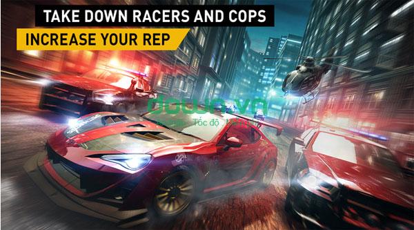 Tải game đua xe tốc độ cao cho iPhone/iPad