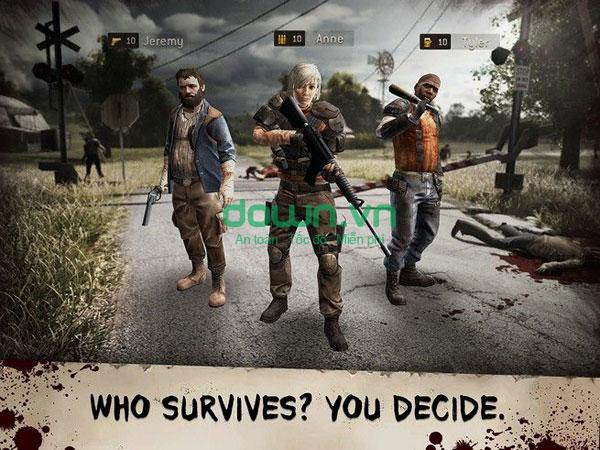 Game tiêu diệt zombie cho iPhone