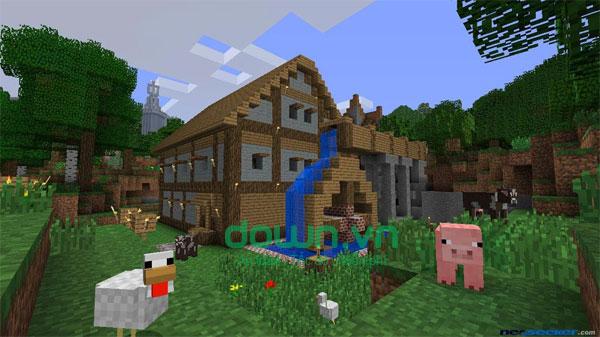 Xây dựng nhà cửa trong game