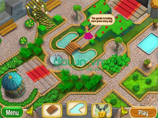 Hoàn thành xây dựng khu vườn