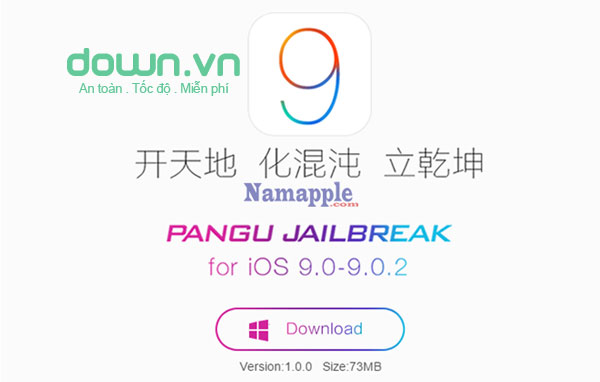 Hướng dẫn jailbreak iOS 9 cho iPhone/iPad