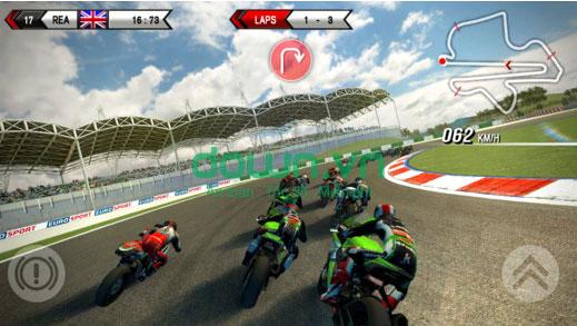 Tải game đua mô tô phân khối lớn cho iPhone/iPad