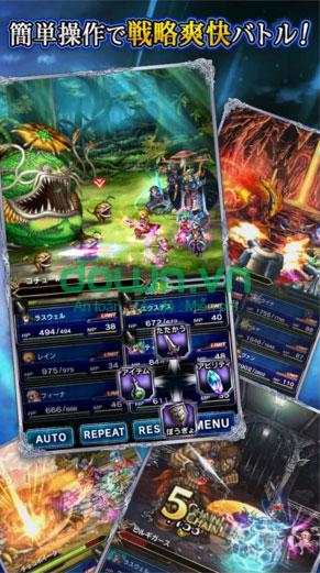 Tải game Final Fantasy: Brave Exvius miễn phí