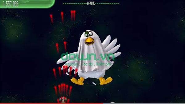 Tải game Chicken Invaders 5 Halloween miễn phí