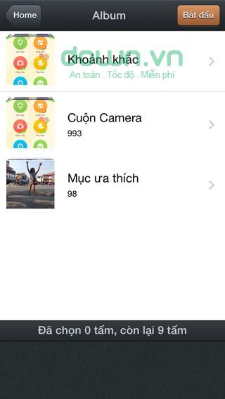 Tải ứng dụng ghép ảnh PhotoWonder cho iOS