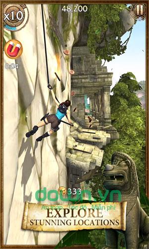 Game phiêu lưu Lara Croft: Relic Run