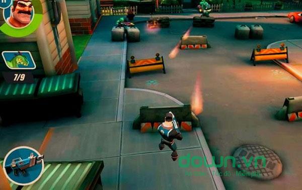 Tấn công địch trong game Max Ammo