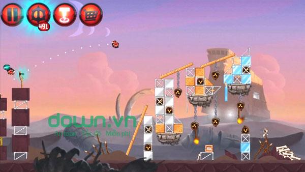 Game bắn chim điên Angry Birds Star Wars II