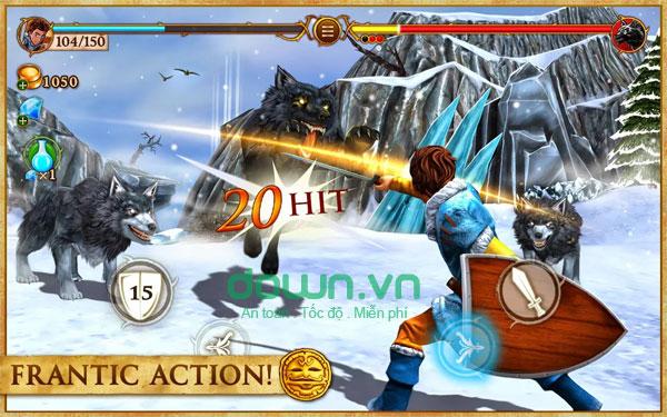 Game hành động Beast Quest cho iOS