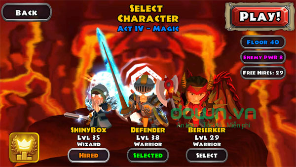 game Dungeon Quest