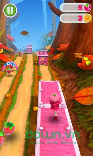 Game tốc độ Strawberry Shortcake: Berry Rush