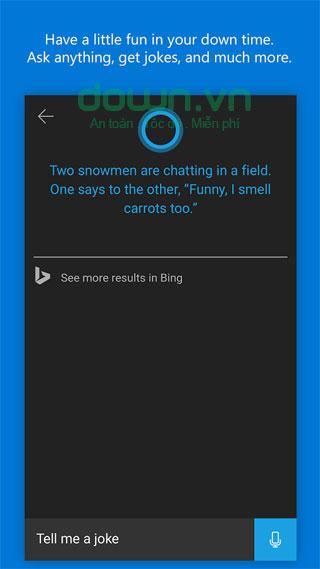Trợ lý ảo Cortana cho Android