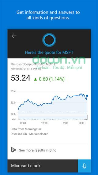 Tải Cortana cho Android