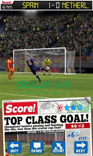 Game đá bong Score! World Goals