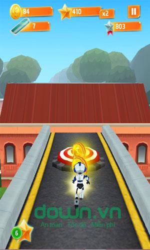 Game endless runner