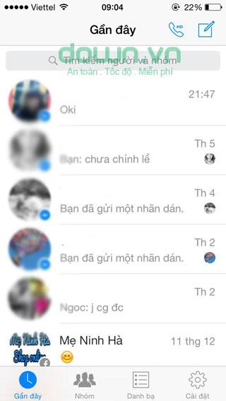 Hướng dẫn cách đặt lại tên đại diện của bạn bè trên Facebook Messenger