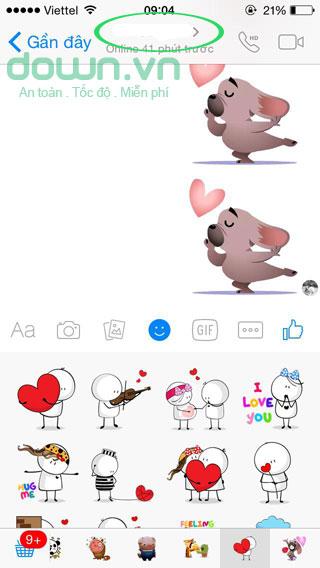 Đặt tên Facebook Messenger