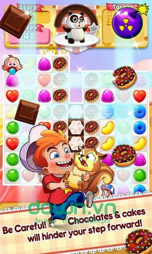 Game trí tuệ Canderland - The Wonderland for Candy