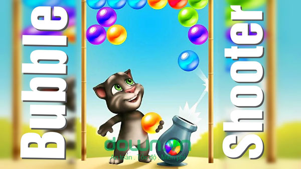 Talking Tom Bubble Shooter for iOS