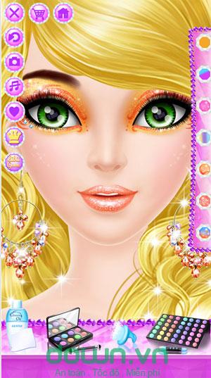 Tải game trang điểm bạn gái miễn phí cho iPhone