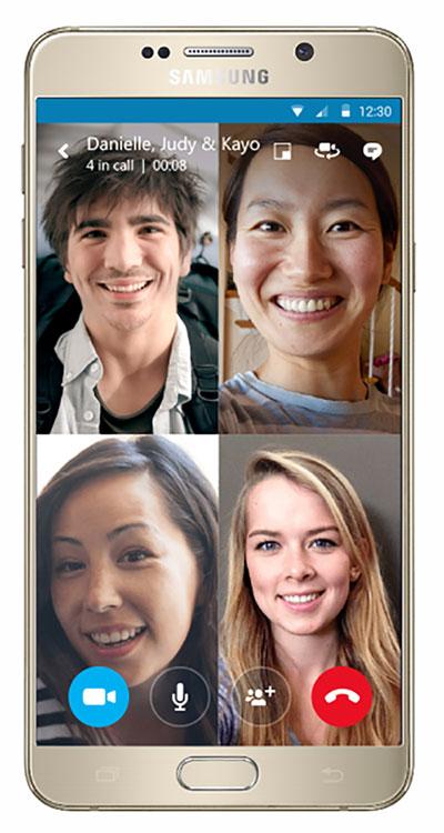 Cách đăng ký dùng thử tính năng gọi video nhóm của Skype trên di động